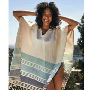 NWT Tribe Alive Caftan CoverUp, Wrap or Poncho